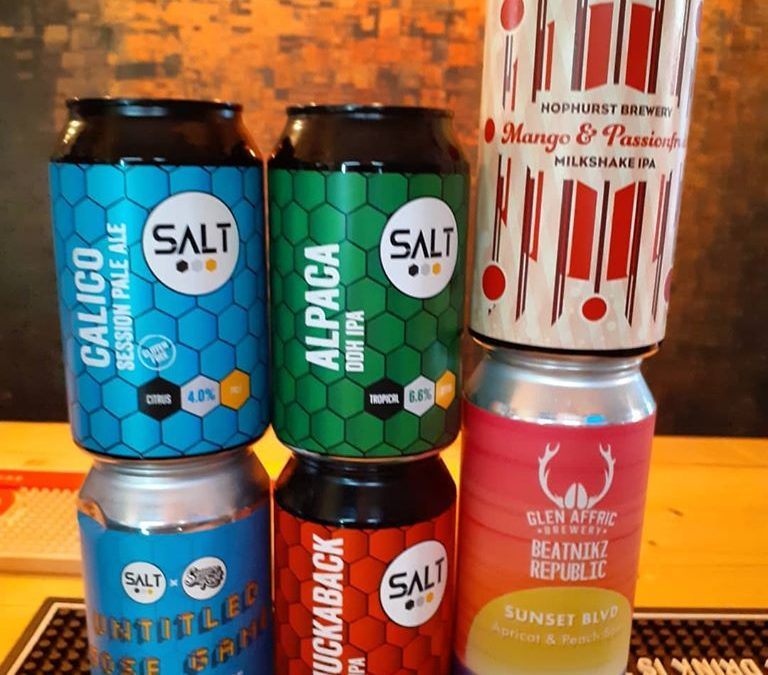Latest Cans – Including a Gluten Free Pale