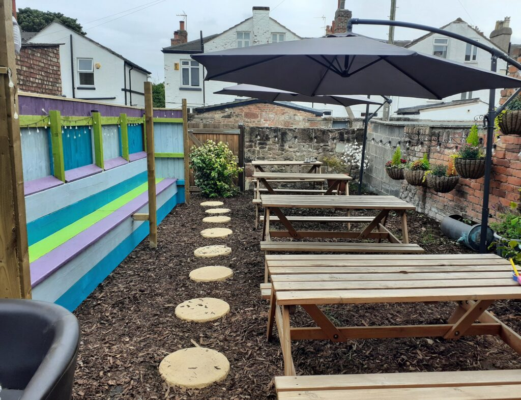 The Black Toad Beer Garden